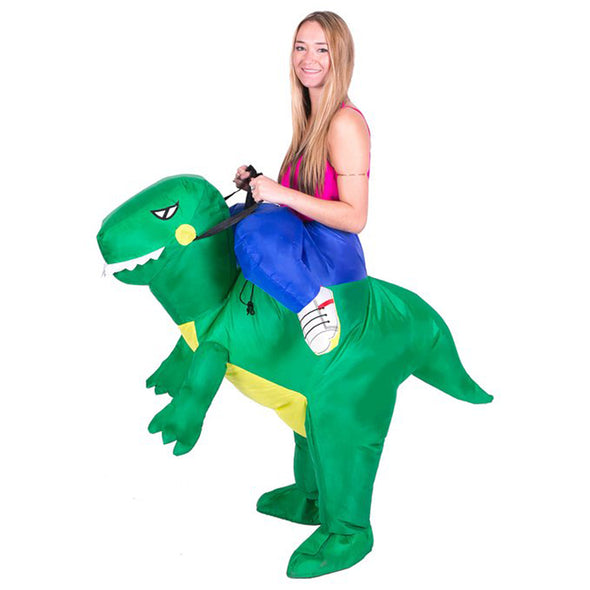 Inflatable Dinosaur Fancy Dress Kids Costume Dragon Party Outfit - Cosplay Infinity