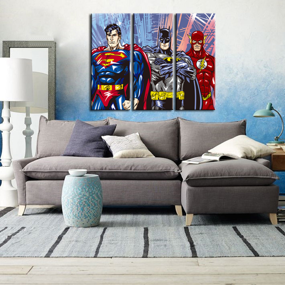 3 piece canvas paintings artwork pieces canvas painting superhero modern art wall decor hd print pictures unframed