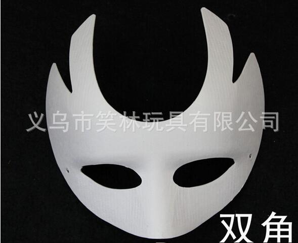 Unpainted Blank Mask Form