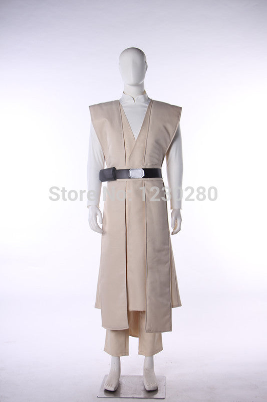 Star Wars 8 The Last Jedi Luke Skywalker Cosplay Costume Adult Mens