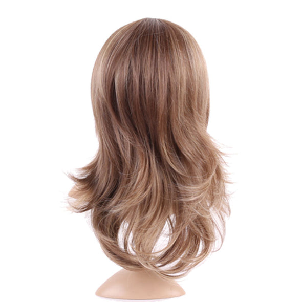 Women Straight Full Wigs Dark Brown Blonde Long Wig Ladies Cosplay Party Real Natural Like - Cosplay Infinity