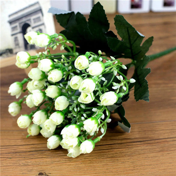 One bouquet 36 head small bud roses artificial flowers silk rose one bouquet 36 head small bud roses artificial flowers silk rose decor cosplay infinity mightylinksfo