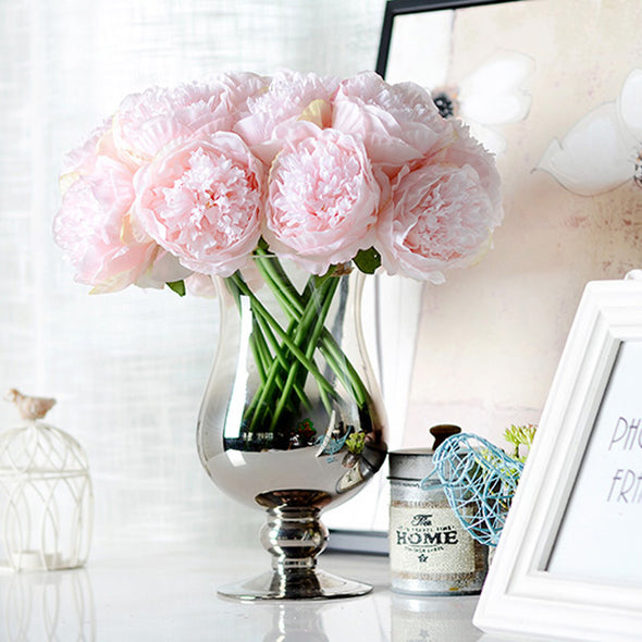 Artificial Flower Peony light  Pink