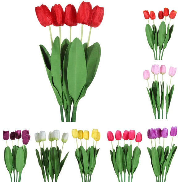 Silk Flowers Tulips all2