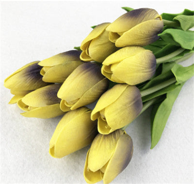 ONE Artificial Silk Tulip Party Artificial Flowers Home Wedding Decorative Floral Crafts - Cosplay Infinity