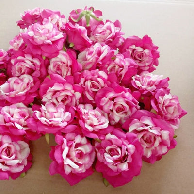 Artificial Rose Flowers rose red 8