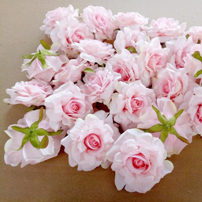Artificial Rose Flowers pink 3