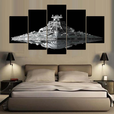 5 Pieces Star Wars Movie Painting Home Decor Canvas Pictures Wall Art - Cosplay Infinity