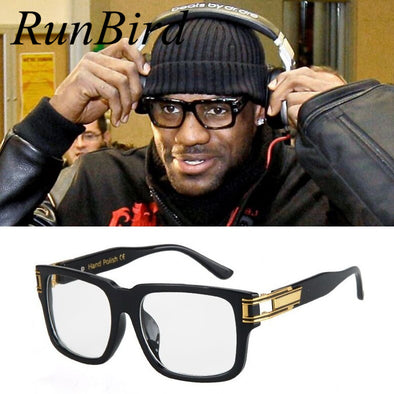 Lebron James Sunglasses Men Women Brand Designer Sun Glasses Celebrity Hip Hop Sunglasses Men's Steampunk Oculos De Sol R098 - Cosplay Infinity