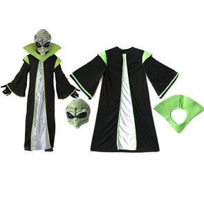 Aliens / Skeleton Skull Warrior costume for Kids Halloween Fancy Dress - Cosplay Infinity