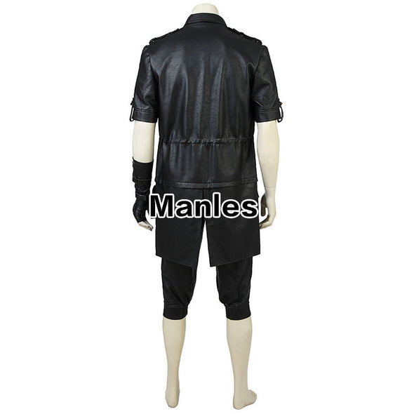 Anime Noctis Lucis Caelum Cosplay Costume Game Final Fantasy XV Jacket Clothes Adult Men Black Outfit Halloween Unisex Customize - Cosplay Infinity