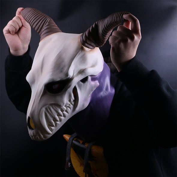 Anime The Ancient Magus' Bride Elias Ainsworth Cosplay Latex Mask Prop Halloween - Cosplay Infinity
