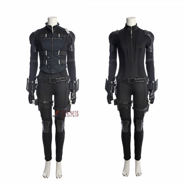 Athemis Avenger  War Black Widow Costume Cosplay Female Full Set Custom Made  High Quality - Cosplay Infinity