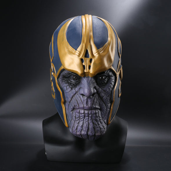Avengers: Infinity War Cosplay Costumes Thanos Latex Mask - Cosplay Infinity