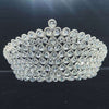 Bridal Wedding Tiaras and Crowns Sliver Hair Crown Cubic Zirconia Large Crown for Women Hair Jewelry Accessories Wholesale - Cosplay Infinity