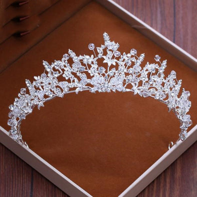 Tiaras And Crowns Hairbands Engagement Wedding Hair Accessories - Cosplay Infinity