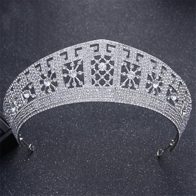 Tiaras And Crowns High Quality Luxury Baroque Style Wedding Crown - Cosplay Infinity