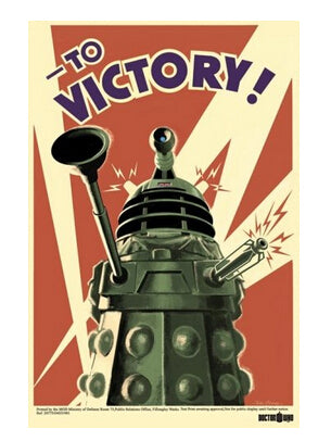 Canvas Poster Silk Fabric Art Doctor Who To Victory Classical Custom Fashion Tatoo On  Poster Print Size  Poster best U1-112 - Cosplay Infinity