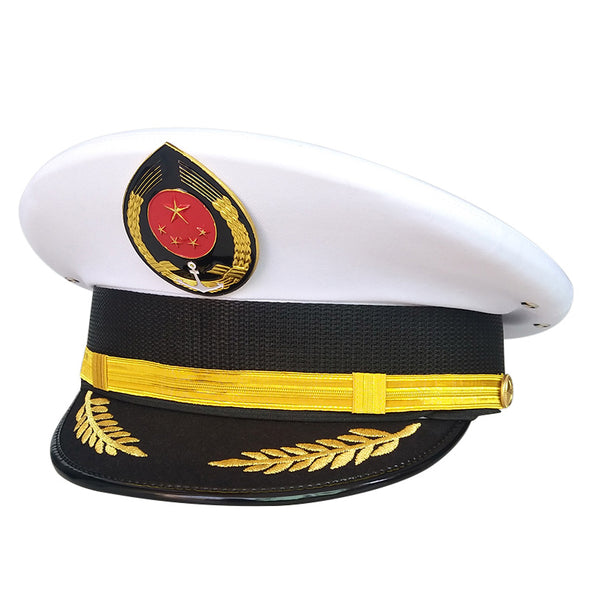Captain Sailor Military Hat Navy Cap Cosplay Accessories - Cosplay Infinity
