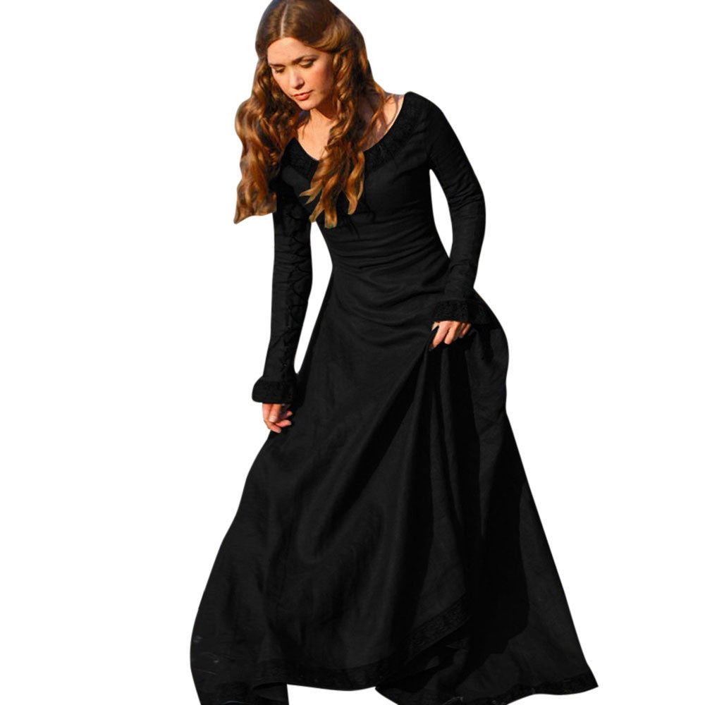 Medieval Gothic Dress Cosplay Costume Renaissance Party Dresses ...