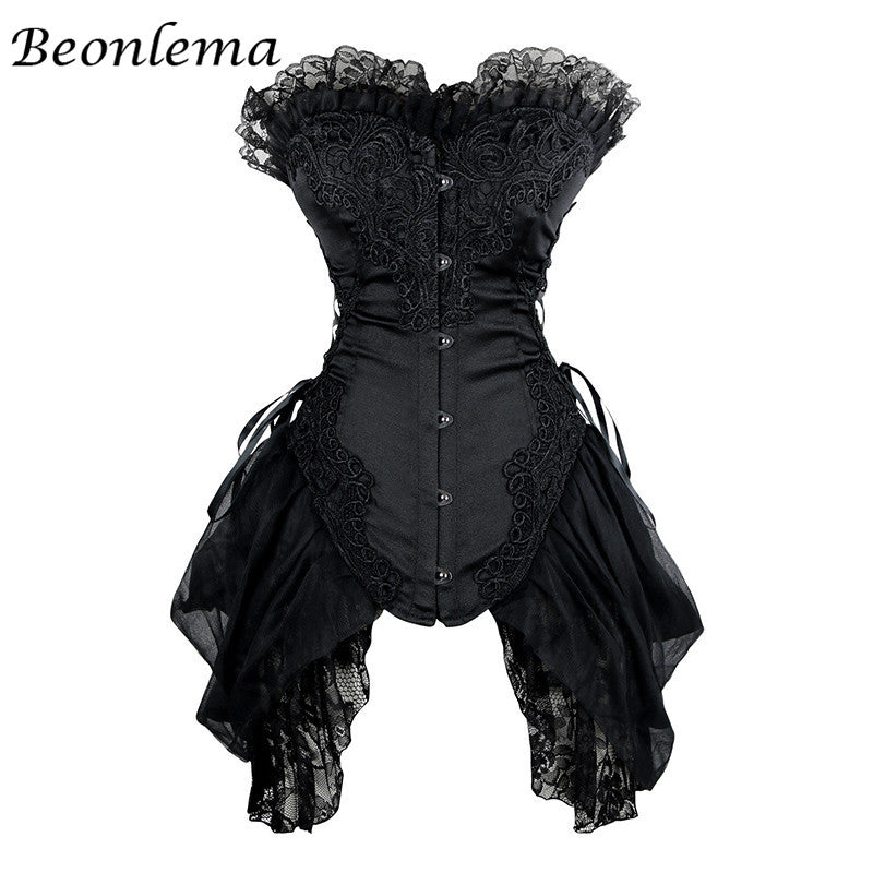 b41c31d6d81 Corset Sexy Dress Lace Bustiers Gothic Cosplay Plus Size XS-6XL – Cosplay  Infinity
