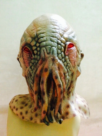 Cosplay Alien Scary Mask Octopus Latex Mask Rubber Full Head Mask - Cosplay Infinity