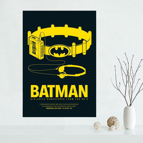 Custom Canvas Poster Batman Canvas Painting Poster High Quality Wall ...