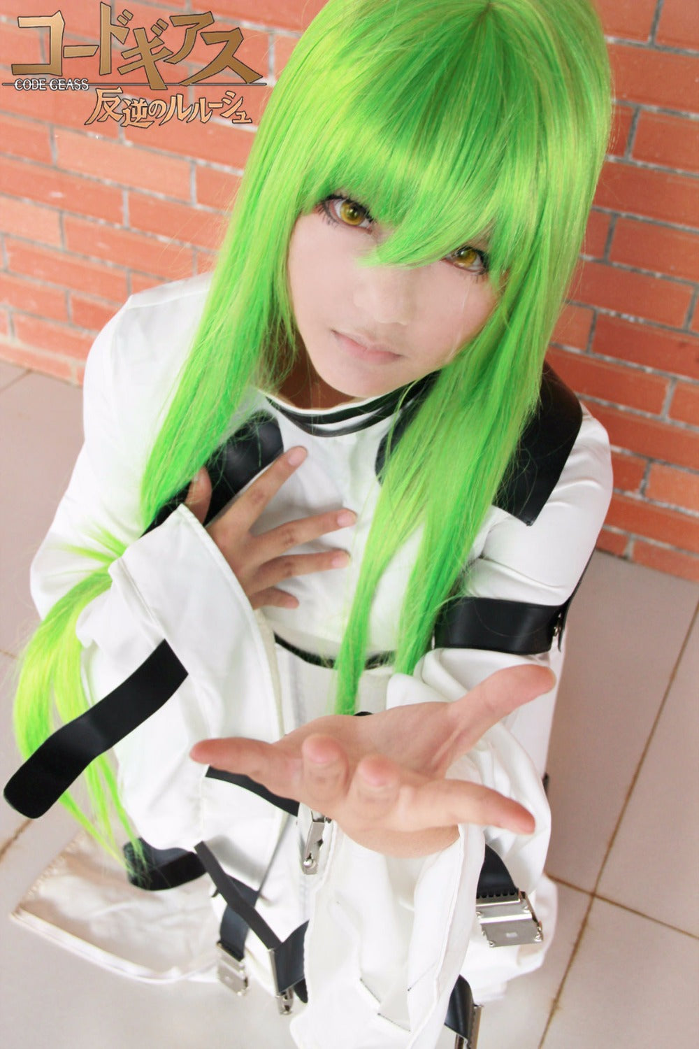 Code Geass Ccwhite Uniform Anime Cosplay Costume Cosplay Infinity
