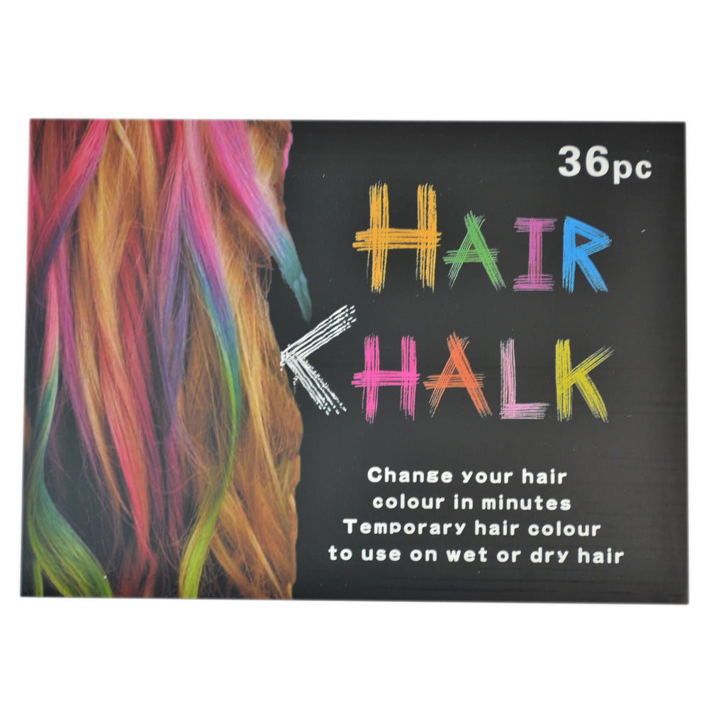 Fashion Draw On Your Hair With Hair Chalk 12 Or 36 Colors Cosplay