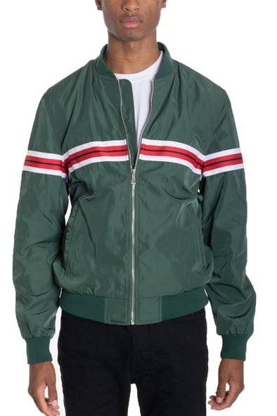 SHIELD BOMBER Windbreaker Jacket GREEN
