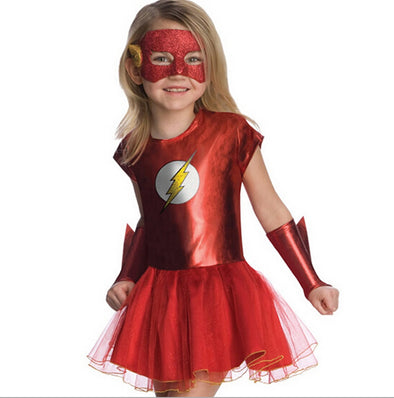 Girls The Flash Superhero Cosplay Costumes - Cosplay Infinity