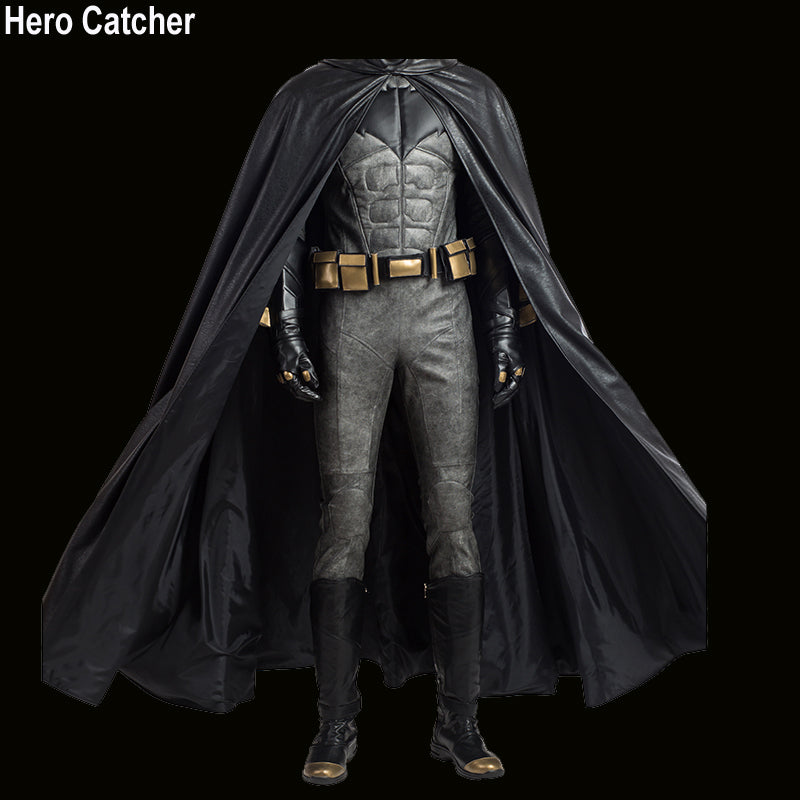 Hero Catcher High Quality Justice League Batman Costume With Cape Custom Made & Hero Catcher High Quality Justice League Batman Costume With Cape ...
