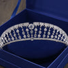 AAA Clear Cubic Zirconia Brides Princess Tiaras Crown Wedding Hair Accessories - Cosplay Infinity