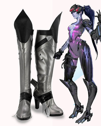 Hot Game Widowmaker Cosplay Boots Shoes - Cosplay Infinity