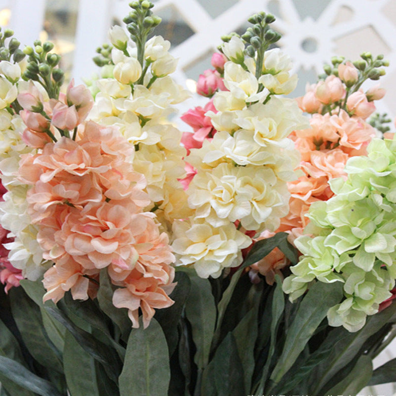 Hyacinth Violet Flower Fake Silk Artificial Flowers Mariage Birthday Party Bridal Floral Home Decoration Ornamental Flores