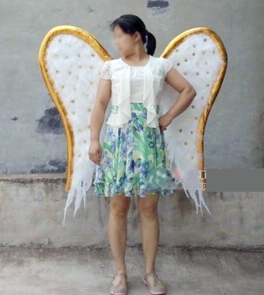 Adult Cool White Feather Angel Wings Cosplay Props Wedding Fairy Wings U2013  Cosplay Infinity