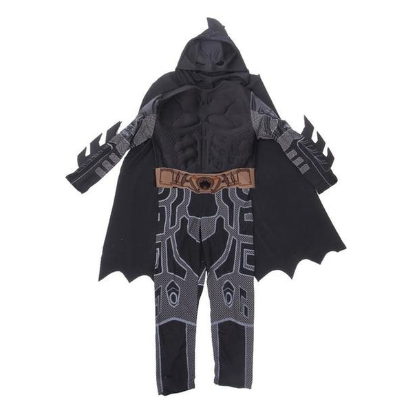New Arrival Kids Deluxe Muscle Dark Knight Batman Suit Child Costume