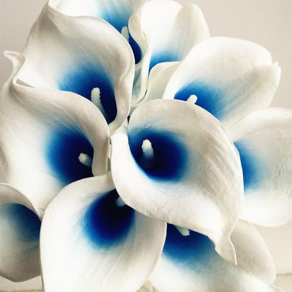 "Callas Lillies 27Pcs 35cm/13.78"" Artificial Flowers Simulation Calla Lily Wedding Crafts - Cosplay Infinity"