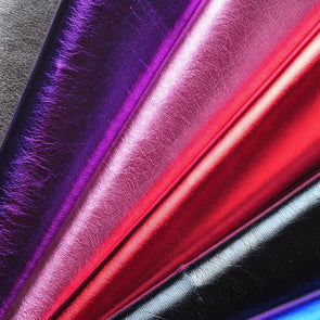 100x135cm/39in*4.4ft Good Quality Shiny Faux Leather For Clothing Vinyl Leather Fabric