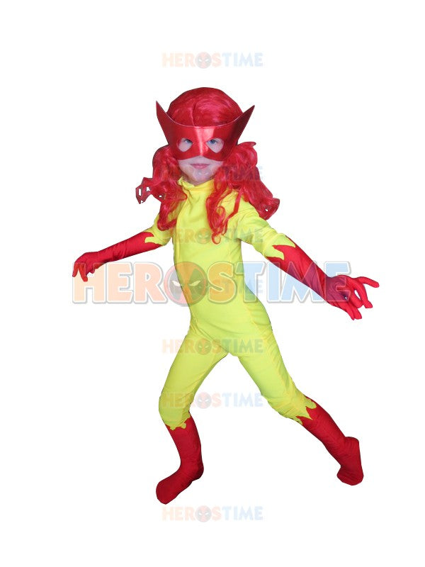 Kids Firestar Costume Spandex Girls Child Cosplay Superhero Costumes u2013 Cosplay Infinity  sc 1 st  Cosplay Infinity & Kids Firestar Costume Spandex Girls Child Cosplay Superhero Costumes ...