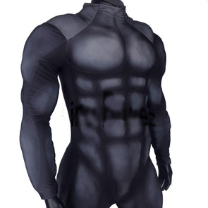 High Quality Custom Made Blue Muscle Padding Suit Cosplay Costume