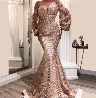 Arabic Sexy Evening Dresses Aibye Muslim Turkish Prom Pageant Gowns For Weddings Abendkleider - Cosplay Infinity