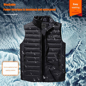 Men Women Outdoor USB Infrared Heating Vest