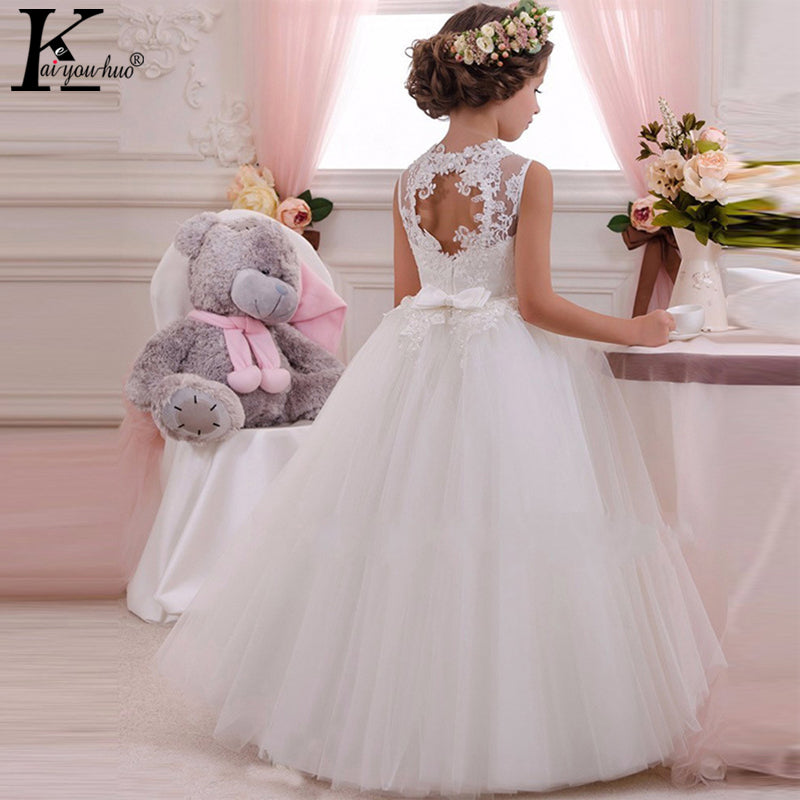 New High Quality Summer Girls Dress Children Clothing Princess Wedding Dress