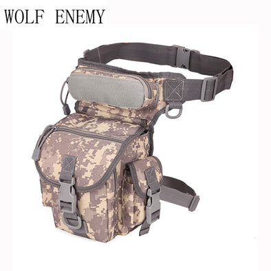 Waterproof Utility Thigh Pouch New Military Waist Pack Tactics Leg Bag - Cosplay Infinity
