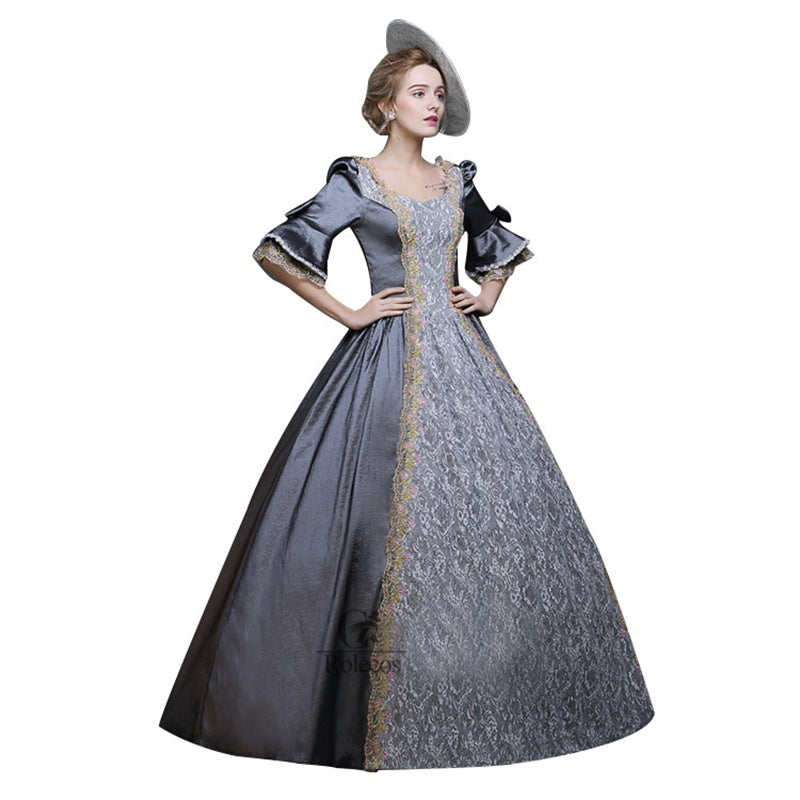 Women Cosplay Ball Gowns Medieval Renaissance Victorian Dresses ...