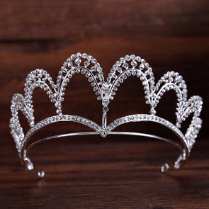 Hot Fashion Silver Hairband Tiaras And Crowns Wedding Hair Accessories Cosplay - Cosplay Infinity