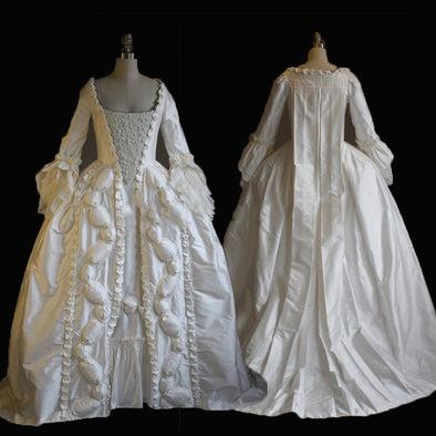 Beautiful Queen Marie Antoinette Period Masquerade Gown Dress