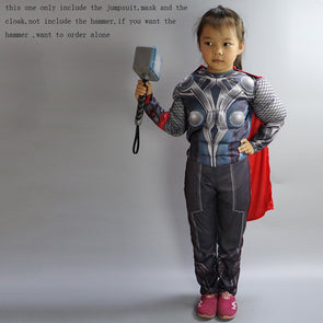 The Avengers Thor Classic Muscle Cosplay Child Captain America Costumes - Cosplay Infinity