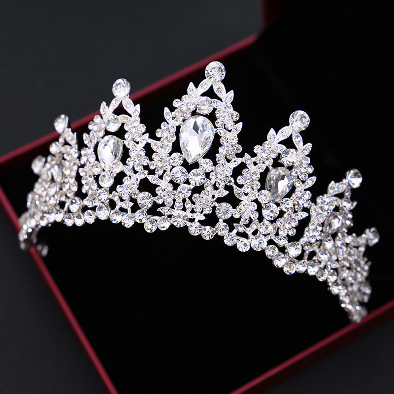 baroque wedding crystal tiaras and crowns pageant cosplay cosplay